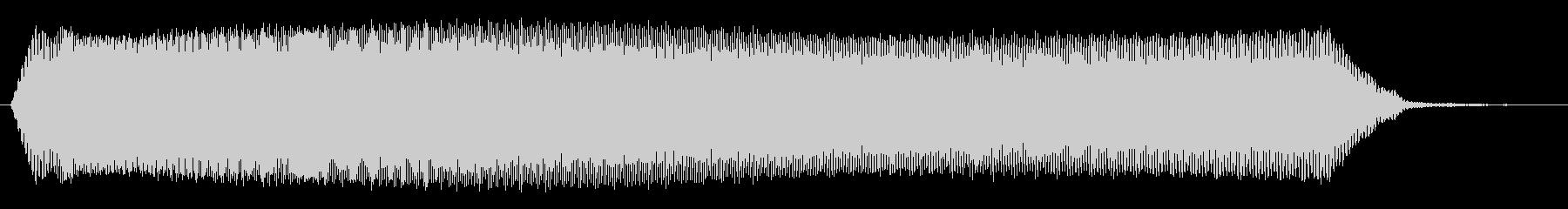 ヒュゥゥゥゥ_コミカルな落下音の未再生の波形