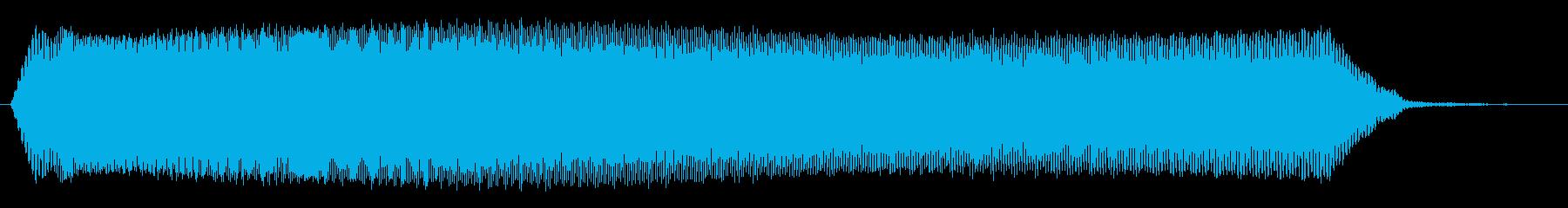 ヒュゥゥゥゥ_コミカルな落下音の再生済みの波形