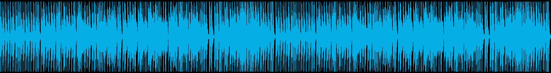和風・街道を陽気に行く江戸っ子風BGMの再生済みの波形