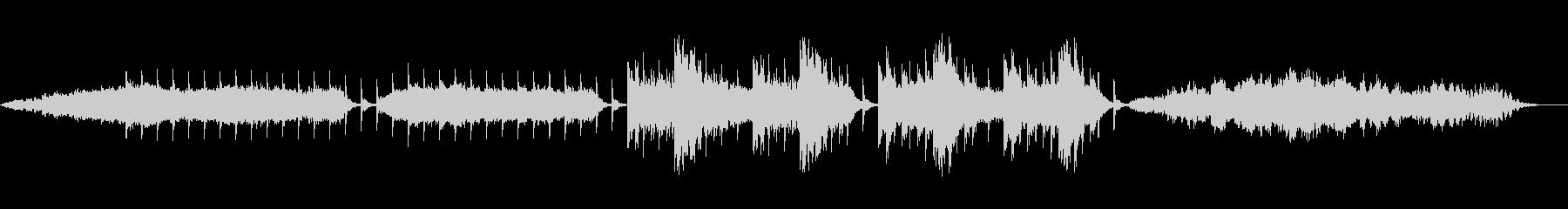 不穏なホラーBGM 後半 フル有の未再生の波形