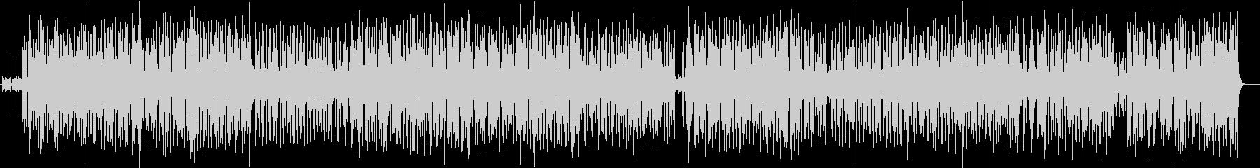 ファンキーなグルーブのヒップ・ポップの未再生の波形