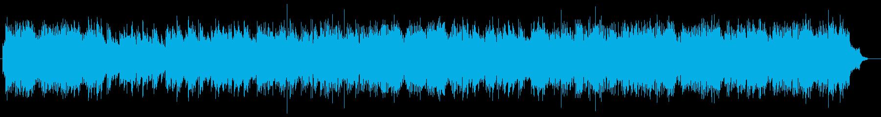 ストリングスとチェロのハーモニーの再生済みの波形