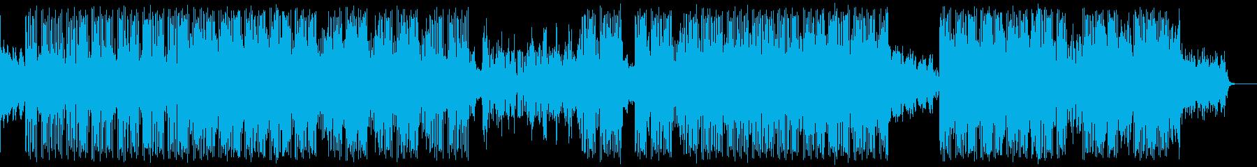 エレクトロ 技術的な 説明的 繰り...の再生済みの波形