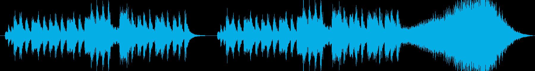ブラックコメディ感のあるオーケストラの再生済みの波形