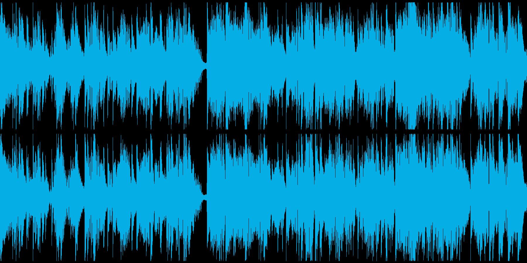 高音サックスの大人なバラード ※ループ版の再生済みの波形