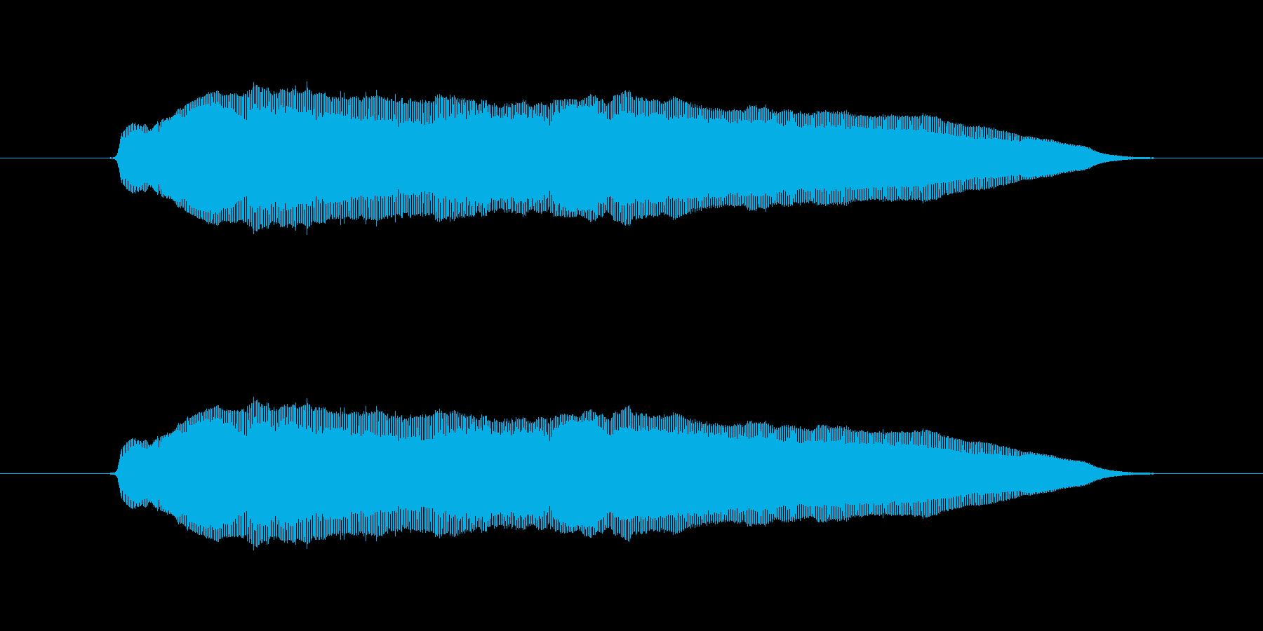 えーんえーん の再生済みの波形
