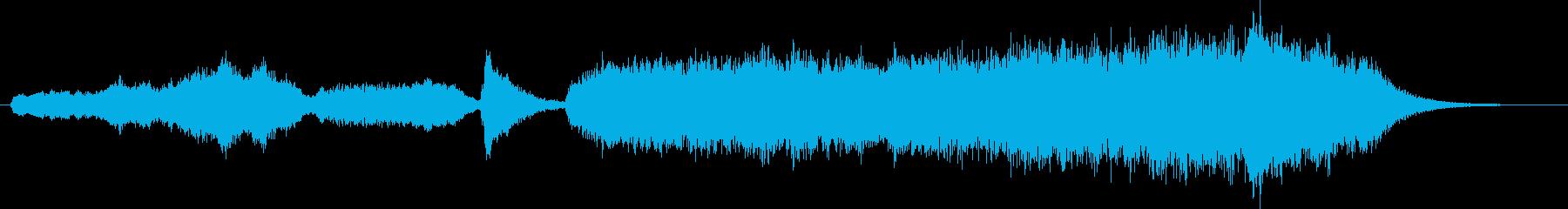 ストリングスによる王道ホラーアンビエントの再生済みの波形