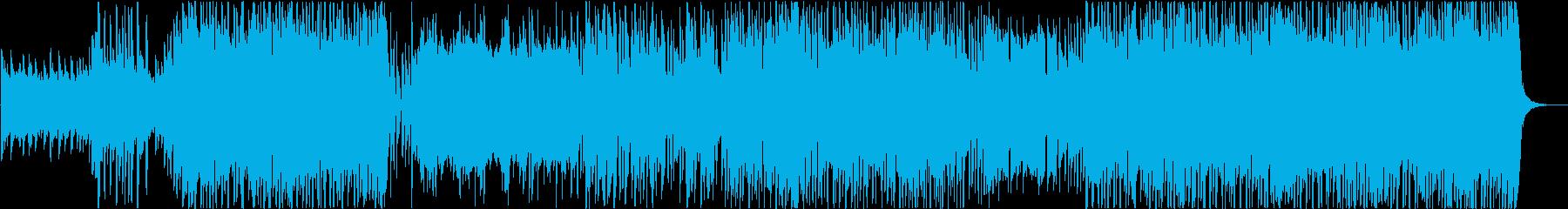 80s感溢れるおしゃれなシンセウェーブの再生済みの波形