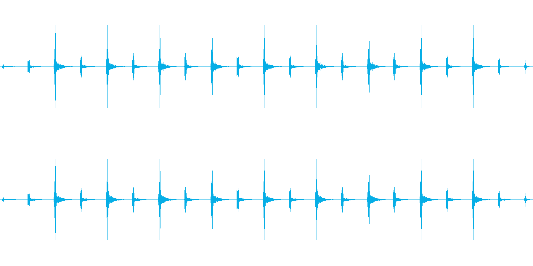 時計 ticktock_46-3_revの再生済みの波形