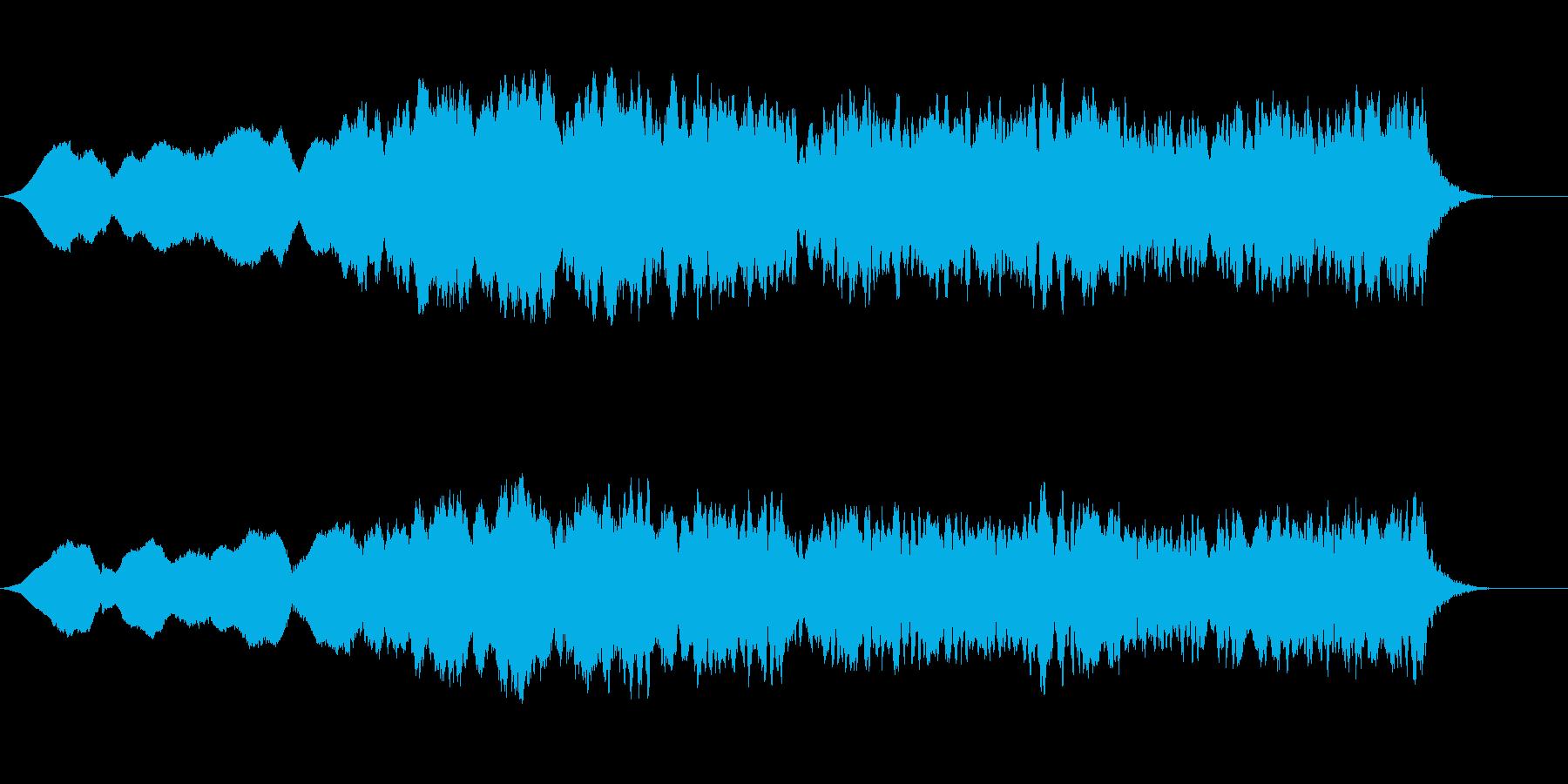 異世界1ホラー環境音の再生済みの波形