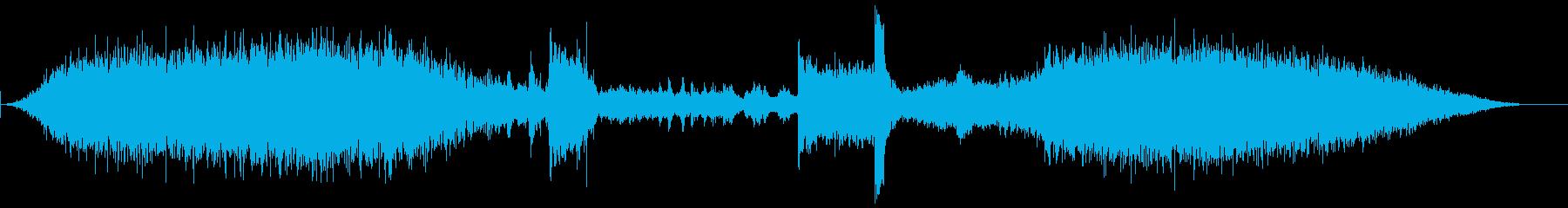 メトロ4プラットフォームの再生済みの波形