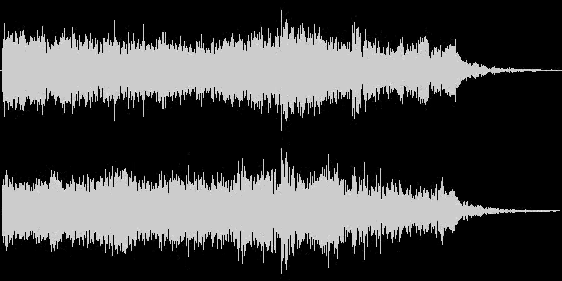 ゲーム等で使えるパワフルファンファーレの未再生の波形