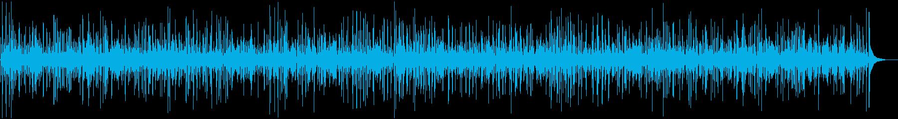 切ないアコーディオンとジャズバンドの再生済みの波形