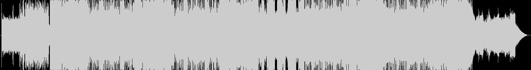 「HARD/HEAVY」BGM30の未再生の波形