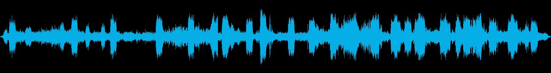 シューティングギャラリー、電子銃、...の再生済みの波形