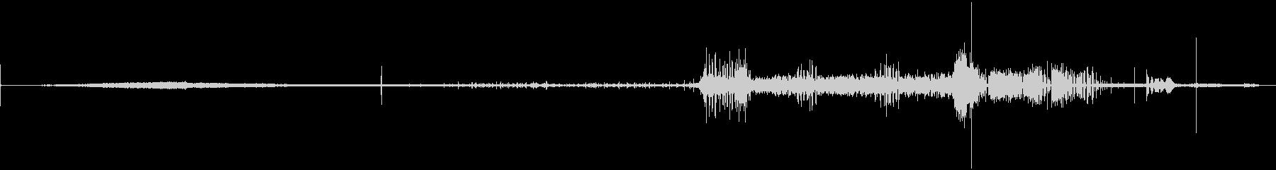 カプチーノマシン-全シーケンス-キッチンの未再生の波形