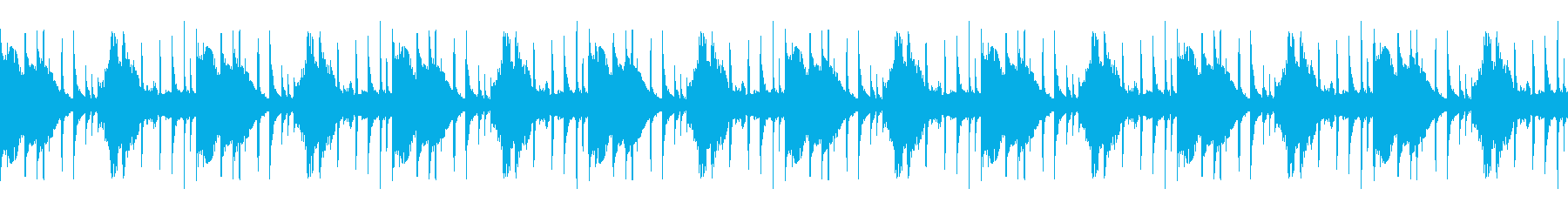 軌道ループ1の再生済みの波形