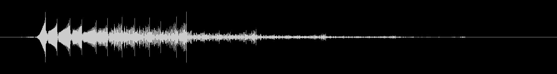 ベンチャーズのテケテケ音の未再生の波形