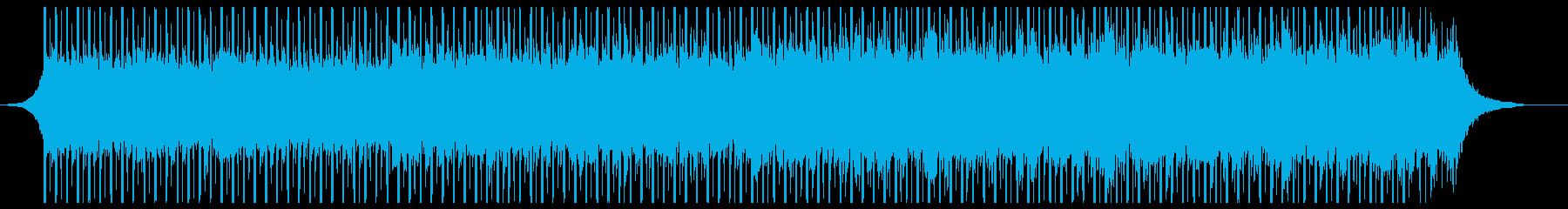 テクノロジーコーポレート(中)の再生済みの波形