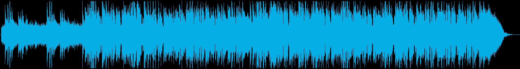 爽やかで広がりのあるピアノ曲の再生済みの波形