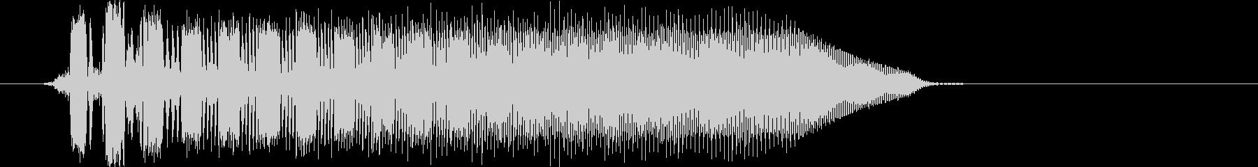 AMGアナログFX 32の未再生の波形