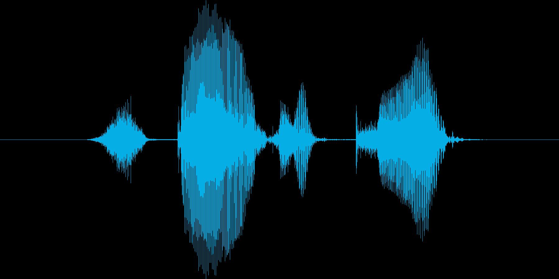 ステージ9(きゅう)の再生済みの波形