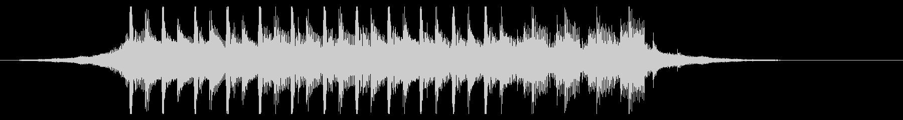 ポジティブコーポレート(15秒)の未再生の波形