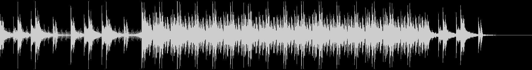 コーポレートテクスチャ―14の未再生の波形
