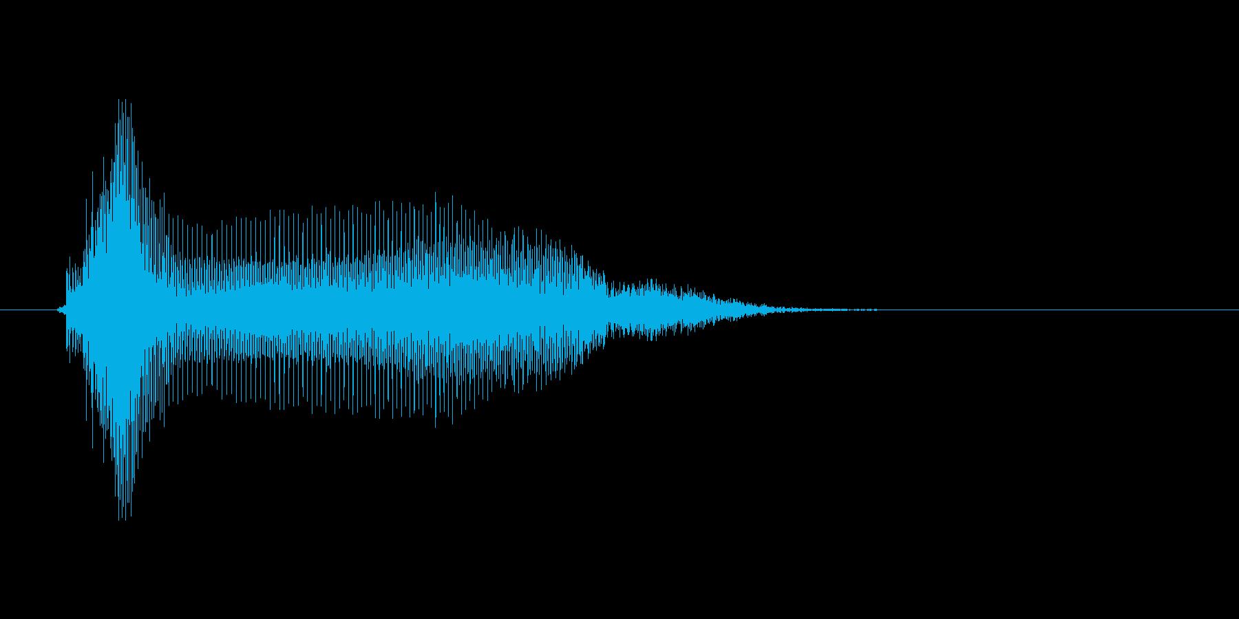 うーんの再生済みの波形
