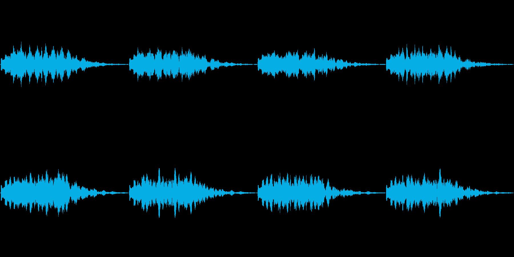 【電話 着信音01-3L】の再生済みの波形