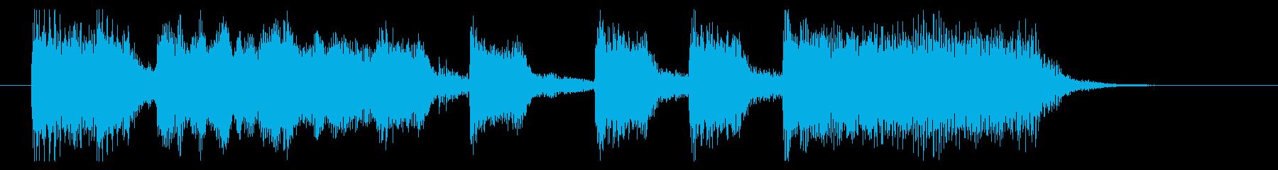 ロック系アイキャッチ 特撮・戦隊モノにの再生済みの波形