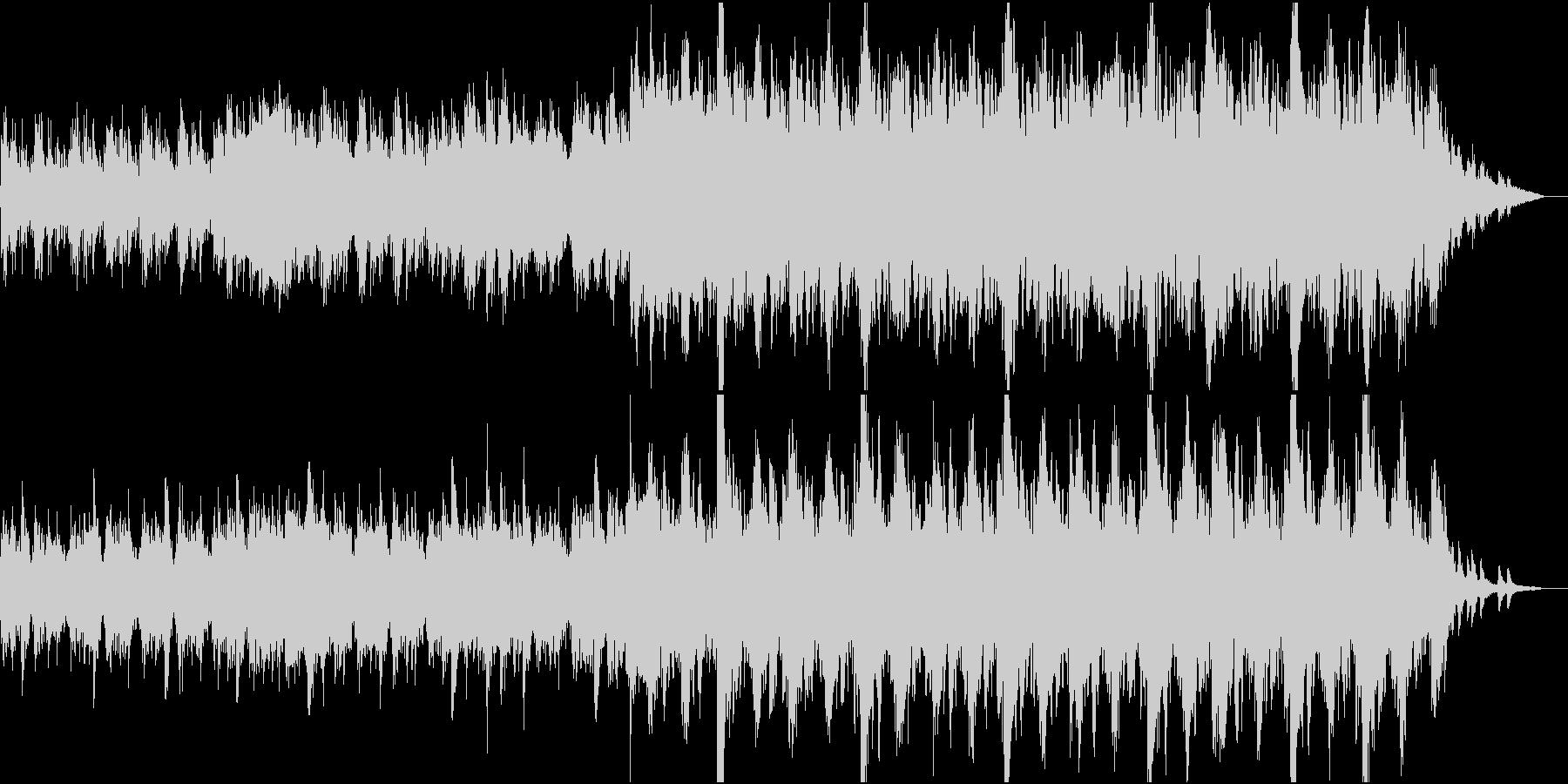 現代的な和風管弦楽④和太鼓と弦楽のみの未再生の波形