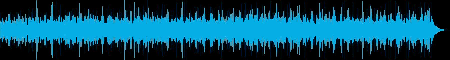 ゆったりしたギターサウンドの再生済みの波形