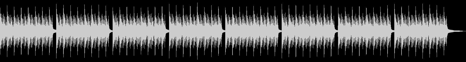 神秘的なピアノアンビエントの未再生の波形