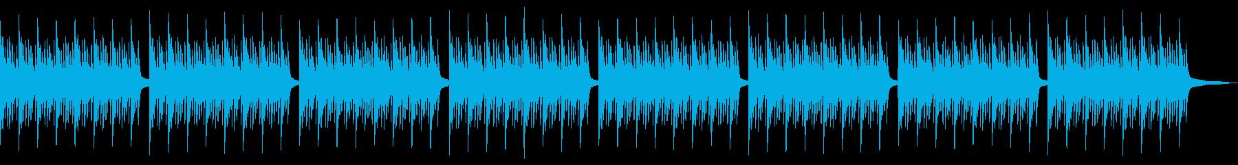 神秘的なピアノアンビエントの再生済みの波形