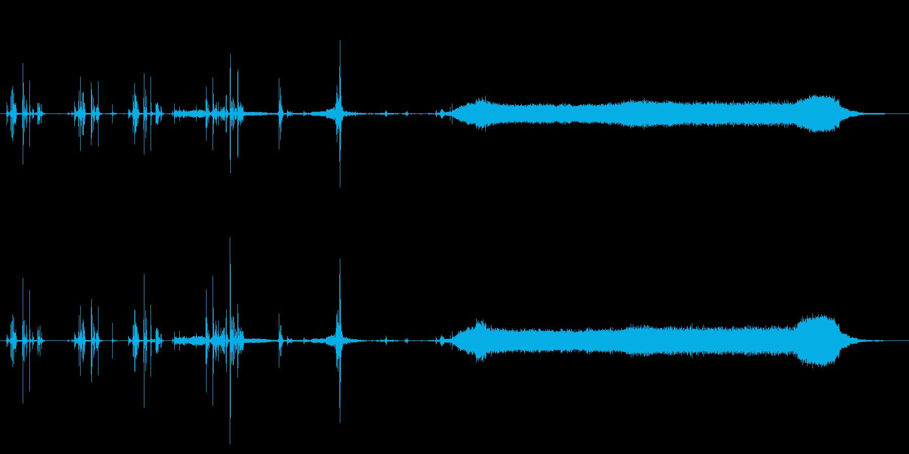 自動販売機ドリンクディスペンサーコ...の再生済みの波形