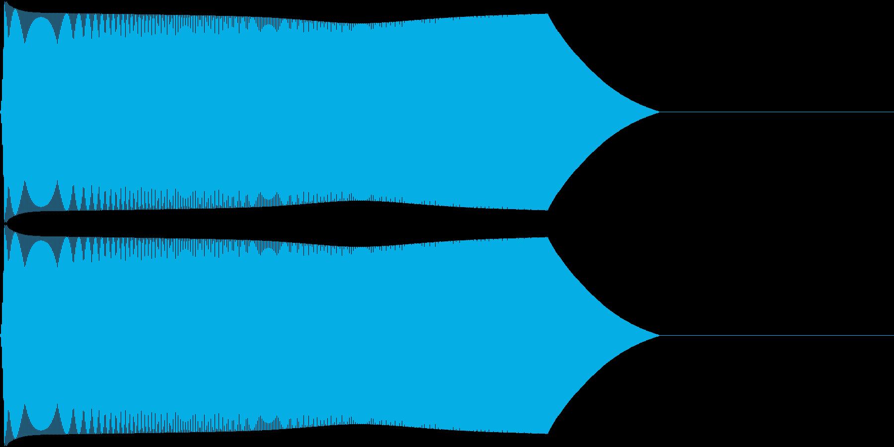 TVFX 『忘れる/とぼける』効果音 2の再生済みの波形