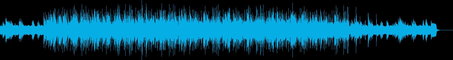 心弾む陽気なBGMの再生済みの波形