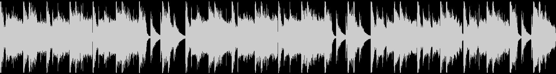パワフルクラップ&ストンプのロックループの未再生の波形