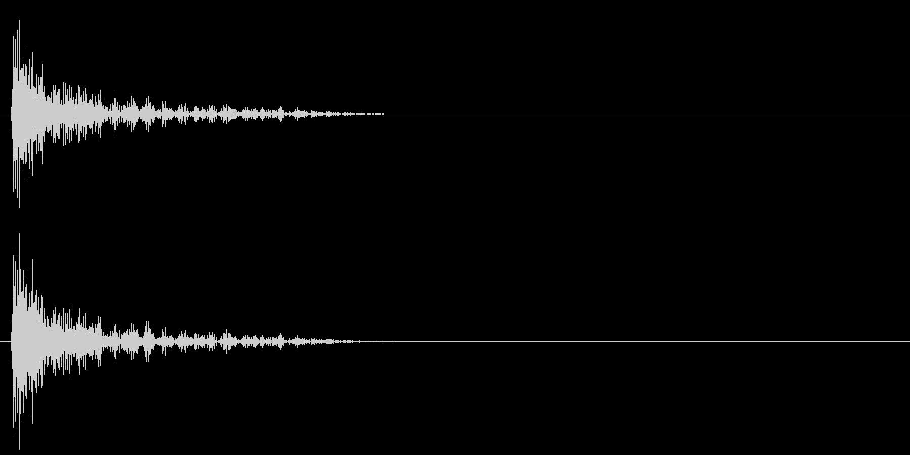 スタート音 2の未再生の波形