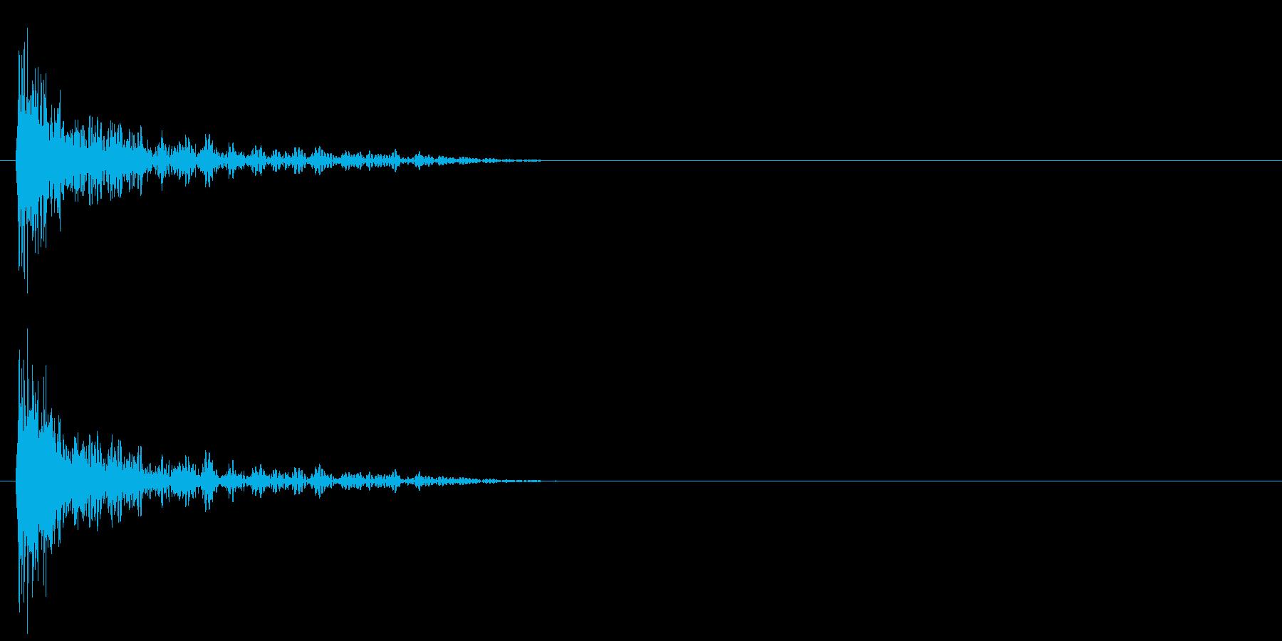 スタート音 2の再生済みの波形