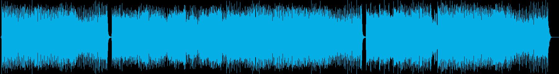 ギターのメロディがワイルドなポップロックの再生済みの波形
