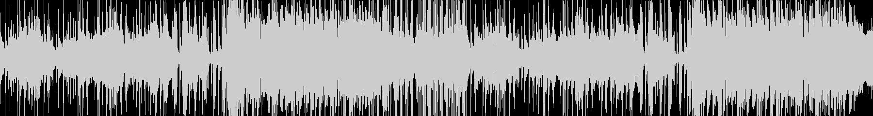 しみじみとした風情の尺八の和風曲ループの未再生の波形