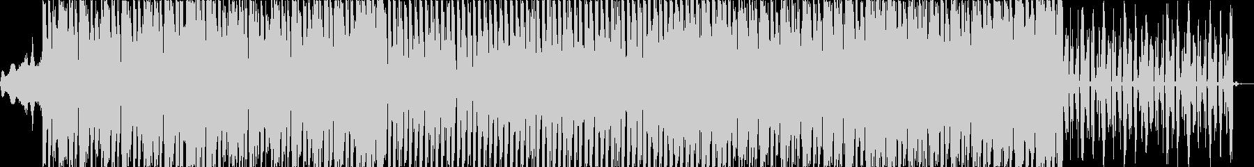 エクササイズにぴったりのシンプルEDMの未再生の波形