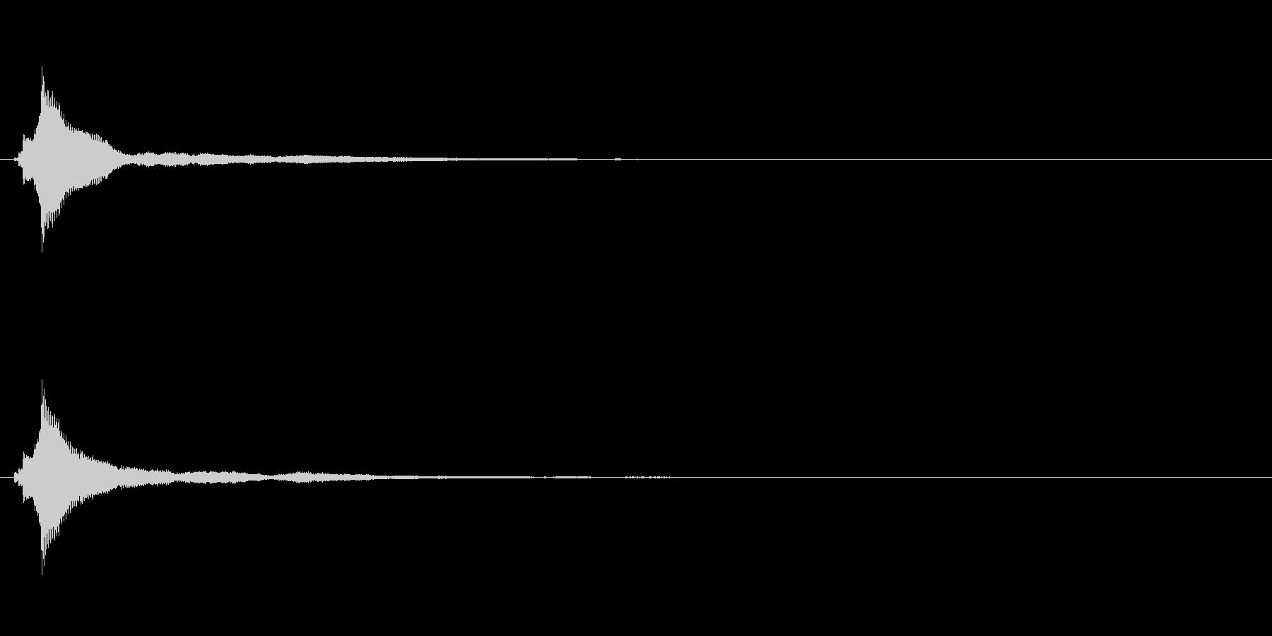 キラキラ系_001の未再生の波形