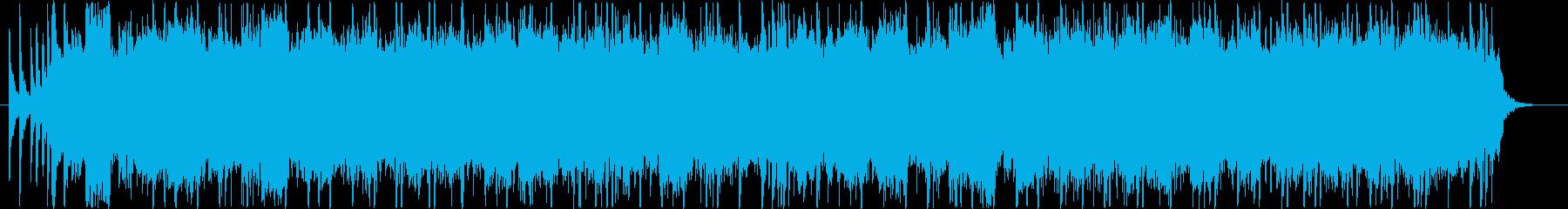 メタル 劇的な 燃える エレキギタ...の再生済みの波形
