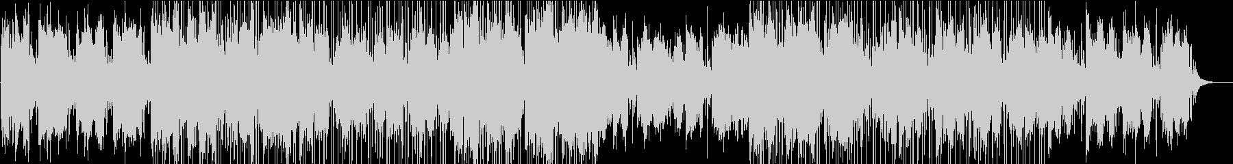 空撮の映像などに合う重厚でクールなBGMの未再生の波形