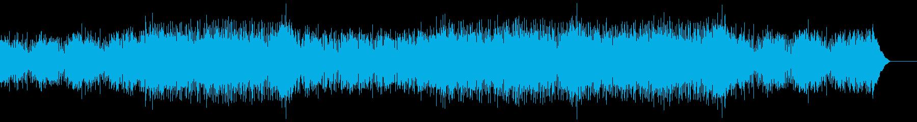 おしゃれな映像に穏やかなバーBGMジャズの再生済みの波形