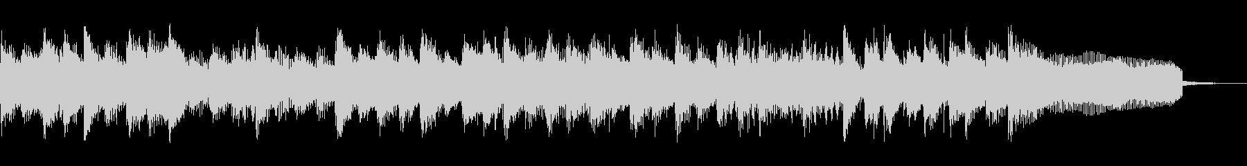 ポップなジングル 場面転換 番組 ラジオの未再生の波形