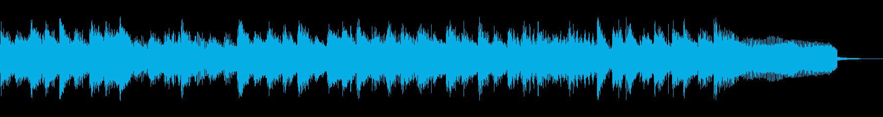 ポップなジングル 場面転換 番組 ラジオの再生済みの波形